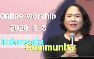 인도네시아어 설교 -2020.03.08