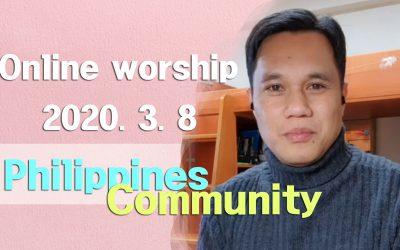 필리핀(타갈로그어) 설교-2020.03.08