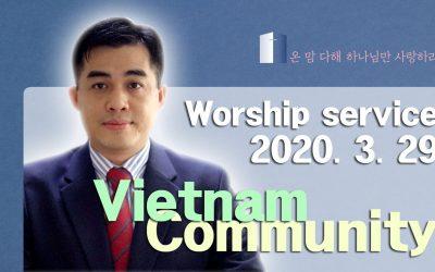 베트남어 설교 -2020.03.29